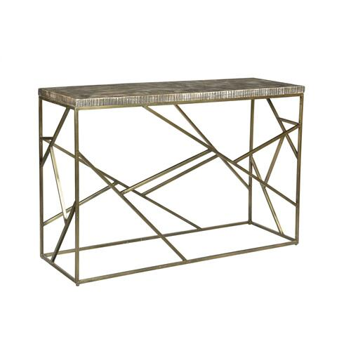 Product Image - Bengal Manor Crazy Cut Iron Console Table