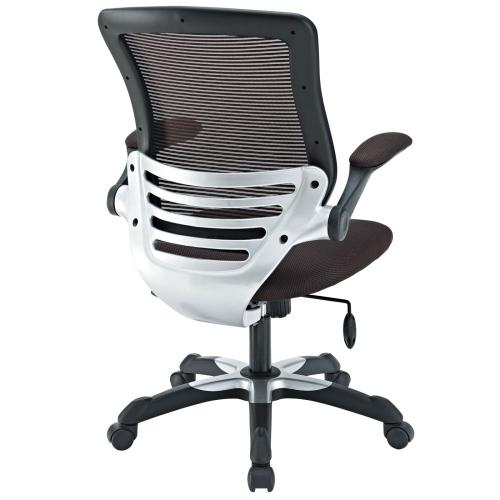 Edge Mesh Office Chair in Brown