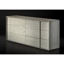 Nova Domus Asus - Italian Modern White Washed Oak Dresser