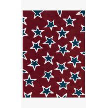 LL-06 Red / Navy Rug