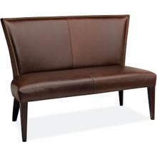 L5673-56 Leather Dining Bench