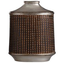 View Product - Winthrop Bronze & Khashi Silver  13in Accessory Vase
