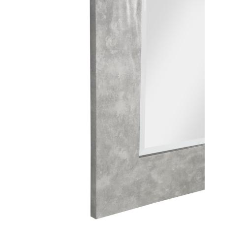 Hammered Metal Wall Mirror -