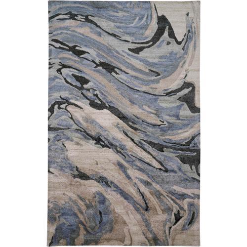 Feizy - DRYDEN 8790F IN BLUE-GRAY