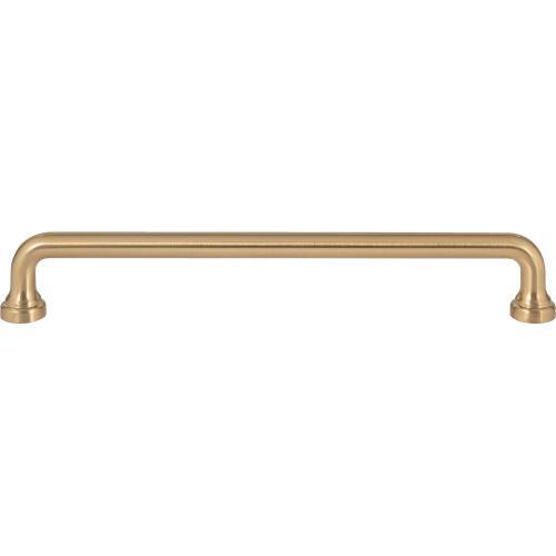 Malin Pull 7 9/16 Inch (c-c) - Warm Brass