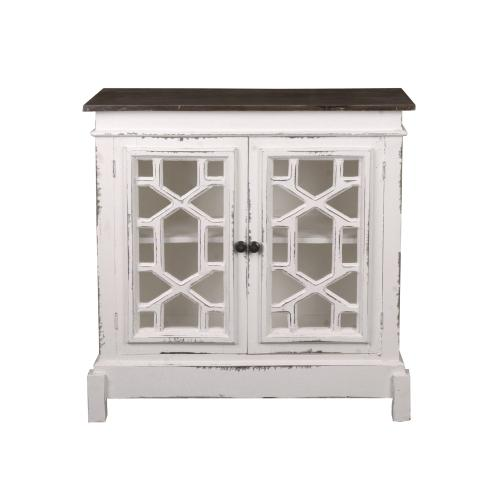 CC-CHE301TLD-WWRW  Lattice Cabinet