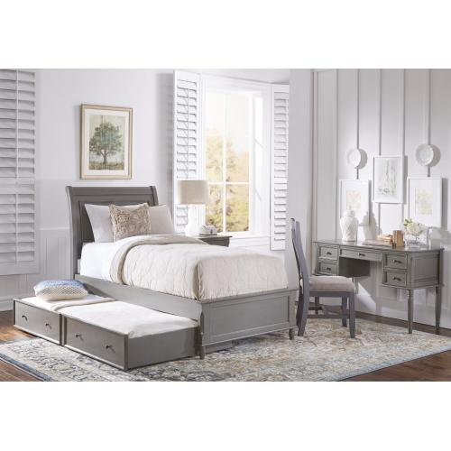 Avignon Grey Dresser & Mirror