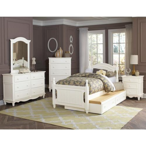 Twin Platform Bed with Twin Trundle