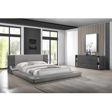 Nova Domus Jagger Modern Grey Bedroom Set