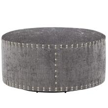 """Pi Cocktail Ottoman 42"""" Round - Special Order"""