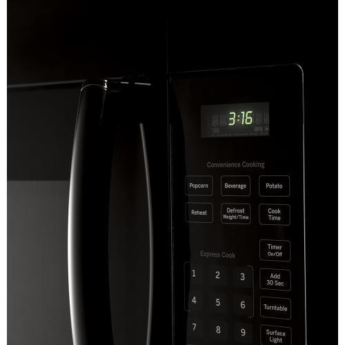 GE 1.6 Cu. Ft. Over-the-Range Microwave Black JVM1630BFC