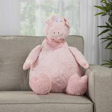 "Plushlines N1565 Pink 1'10"" X 2'2"" Plush Animal"