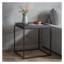 GA Forden Tray Side Table Black