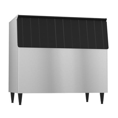 """Product Image - B-800SF, 48"""" W Ice Storage Bin with 800 lbs Capacity - Stainless Steel Exterior"""