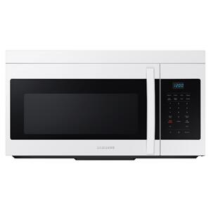 Samsung1.6 cu. ft. Over-the-Range Microwave with Auto Cook in White