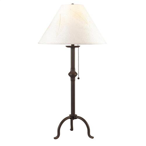 75W Iron Table Lamp W/Pull Chain