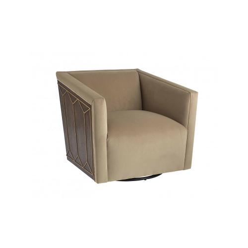 WoodWright Sullivan Swivel Chair