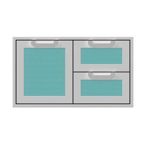 """Hestan - 36"""" Hestan Outdoor Combo Door/Drawer - AGSDR Series - Bora-bora"""