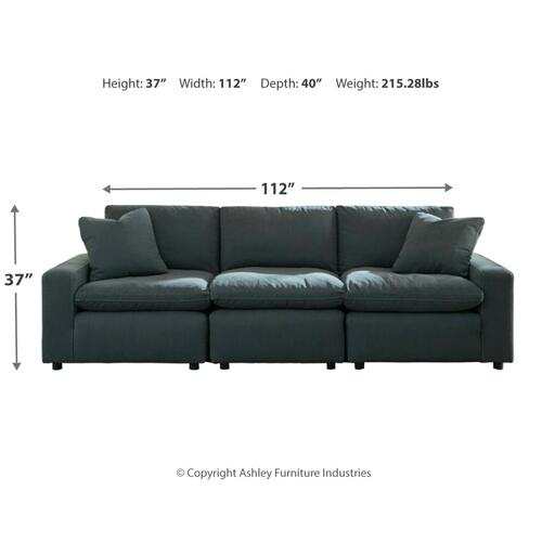 Savesto 3-piece Sectional Sofa