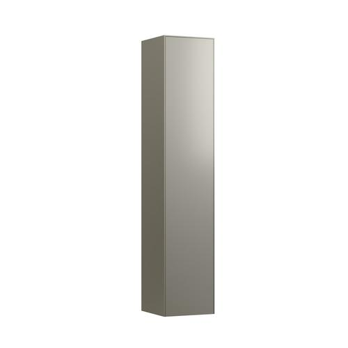 White Matte Tall cabinet, 1 door, right hinged