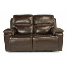 See Details - Fenwick Power Reclining Loveseat with Power Headrests