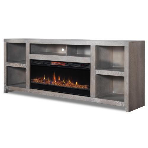 """Driftwood 85"""" Fireplace Console"""