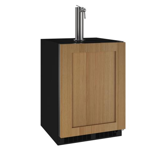 24-In Beverage Dispenser with Door Style - Panel Ready, Door Swing - Right
