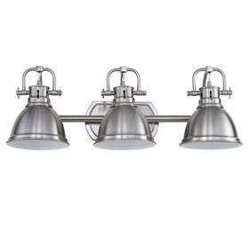 Roland Three Light Bathroom Sconce - Brush Nickel