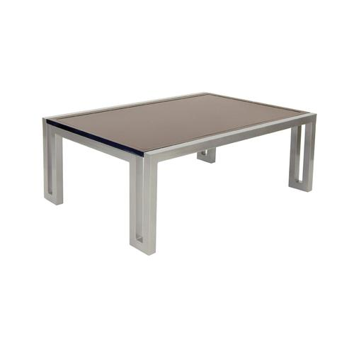 """Castelle - 50"""" Icon Large Rectangular Coffee Table"""