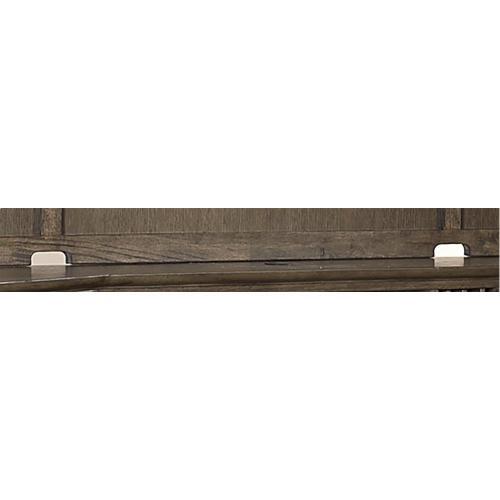 "Aspen Furniture - 72"" Credenza Desk w/sliding top & storage"