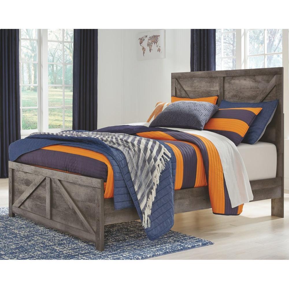 Wynnlow Full Crossbuck Panel Bed