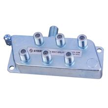 See Details - 6-Way Signal Splitter with Built-In Grounding Block