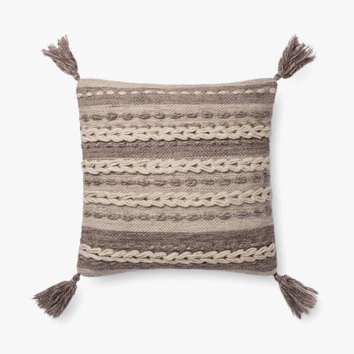 P0707 Dark Taupe Pillow