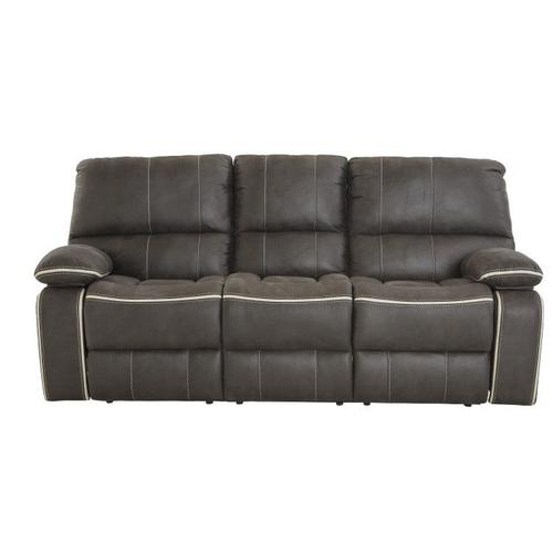Arlington Charcoal Manual Recliner Sofa, Grey