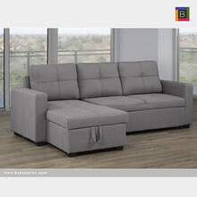 Sectional W/reversible Storage Chaise