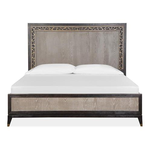 Magnussen Home - Complete Cal.King Panel Bed