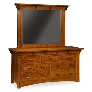 "Mayberry 7 Drawer 68"" Dresser"