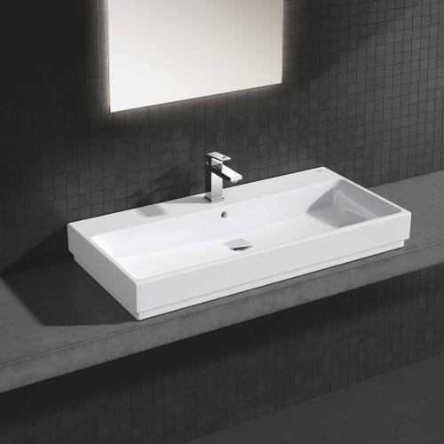 Eurocube Single Hole Single-handle M-size Bathroom Faucet 1.5 Gpm