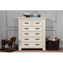 Coastal White Palermo 6-Drawer Chest