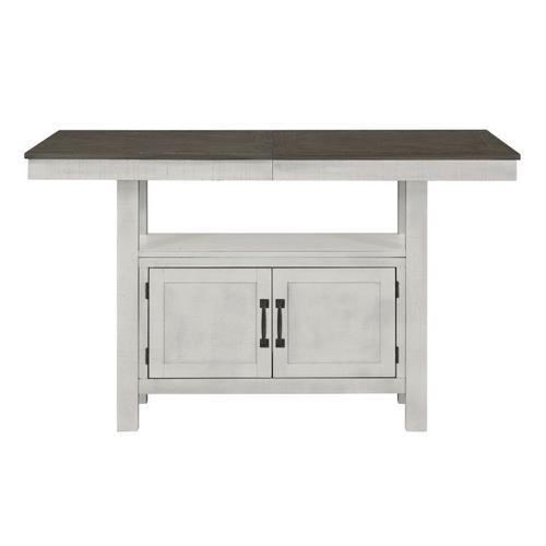 Gallery - Kirkland Counter Height Table, White