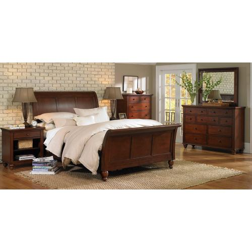 King/Cal King Sleigh Bed