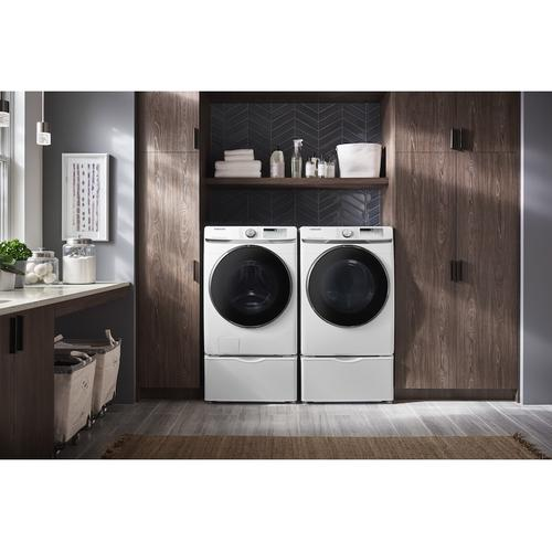 Product Image - 7.5 cu. ft. Smart Electric Dryer with Steam Sanitize+ in White