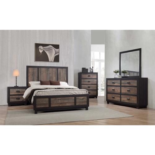 Harlington Queen Panel Bed