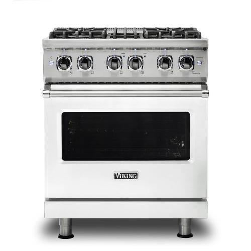 "30"" Dual Fuel Range - VDR530 Viking 5 Series"