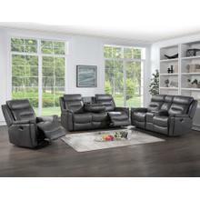 See Details - Nash 3-Piece Manual Motion Set (Sofa, Loveseat & Recliner)