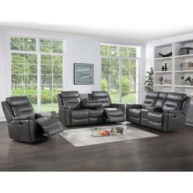 Nash 3-Piece Manual Motion Set (Sofa, Loveseat & Recliner)