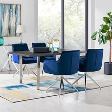 Product Image - Fenton and Blue Noah 5 Piece Modern Rectangular Dining Set