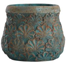 Tenbury Turquoise  9in Ht Concrete Accessory