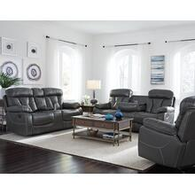 Manual Grey Glider Recliner
