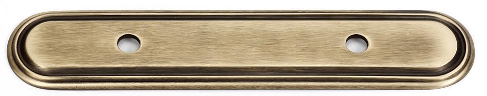 Venetian Backplate A1508-35 - Unlacquered Brass
